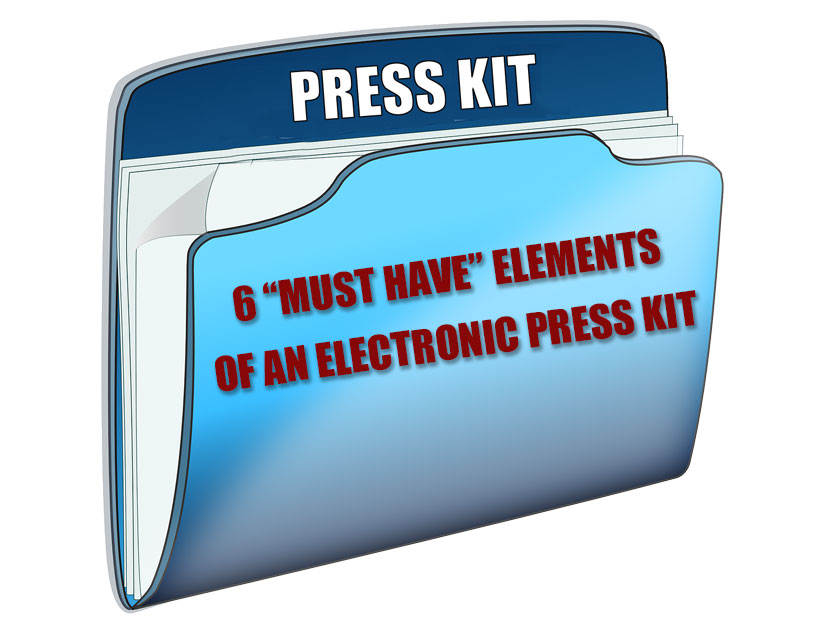 Promote Your Book with a Comprehensive Electronic Press Kit