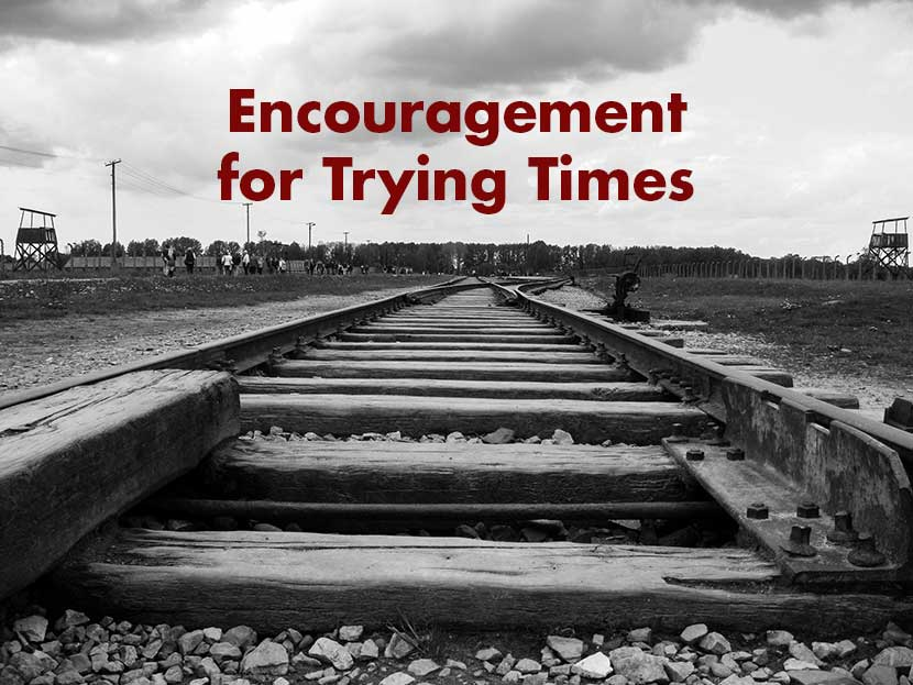 Encouragement for Trying Times